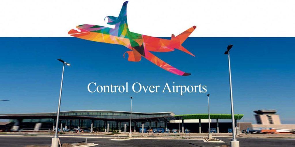 Control overseas Airport Gautam Adani