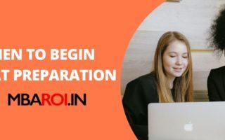 when to began MAT Preparation