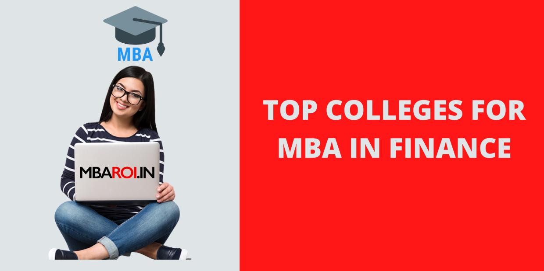 Top B-Schools For Finance